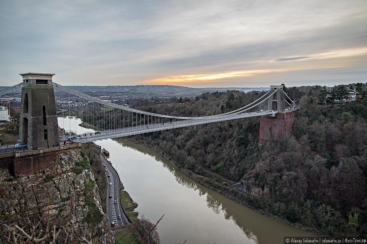 The Clifton bridge in Bristol 22