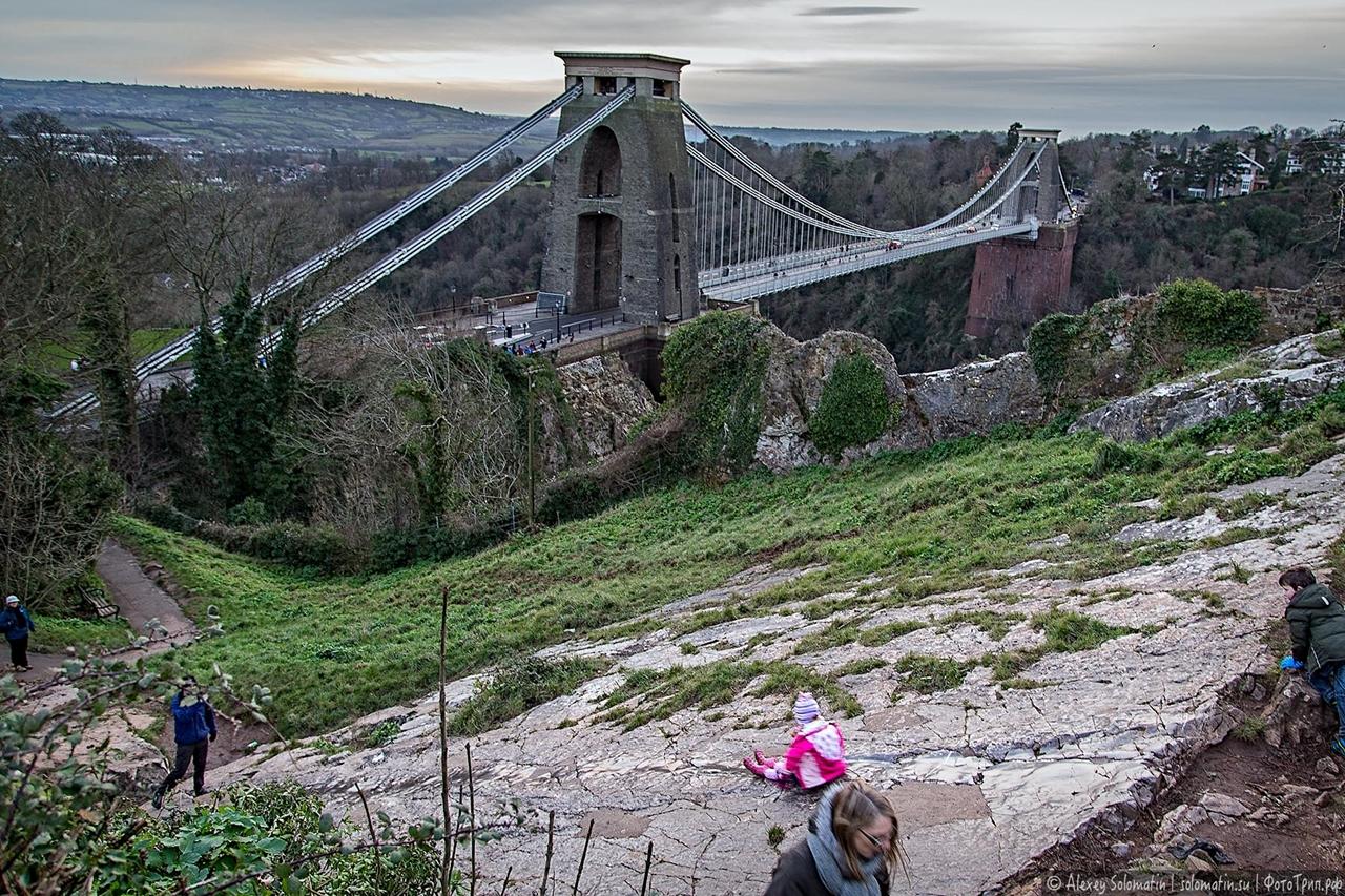 The Clifton bridge in Bristol 24