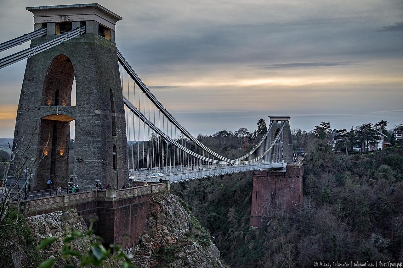 The Clifton bridge in Bristol 25