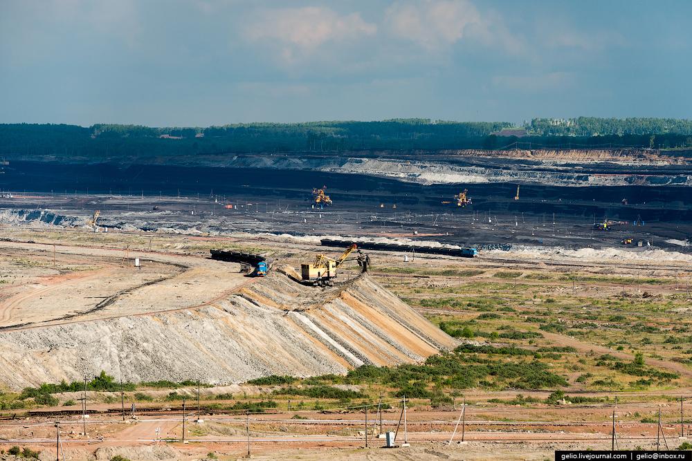 The biggest coal mine in Russia 04