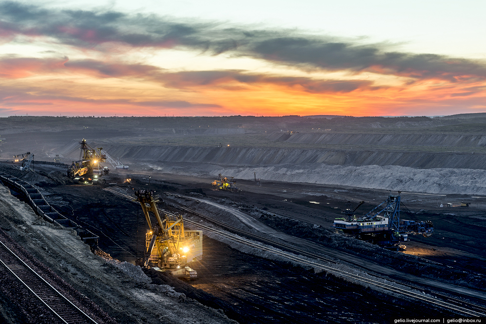 The biggest coal mine in Russia 05
