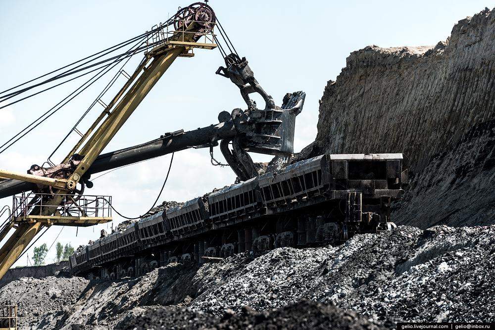 The biggest coal mine in Russia 07