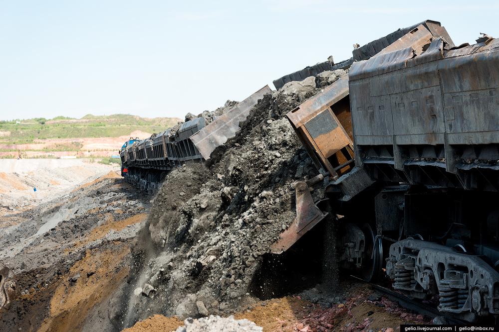 The biggest coal mine in Russia 08