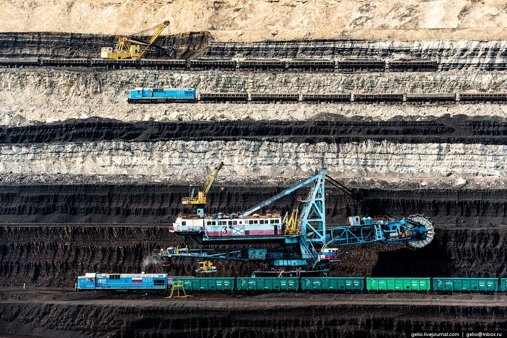 The biggest coal mine in Russia 10
