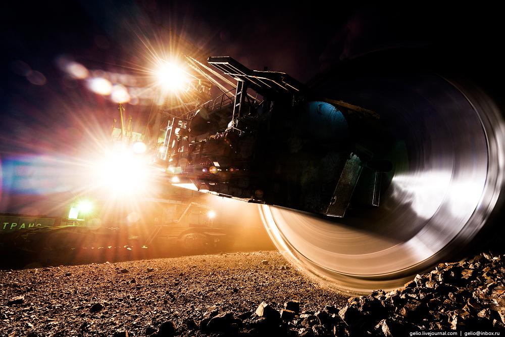 The biggest coal mine in Russia 16