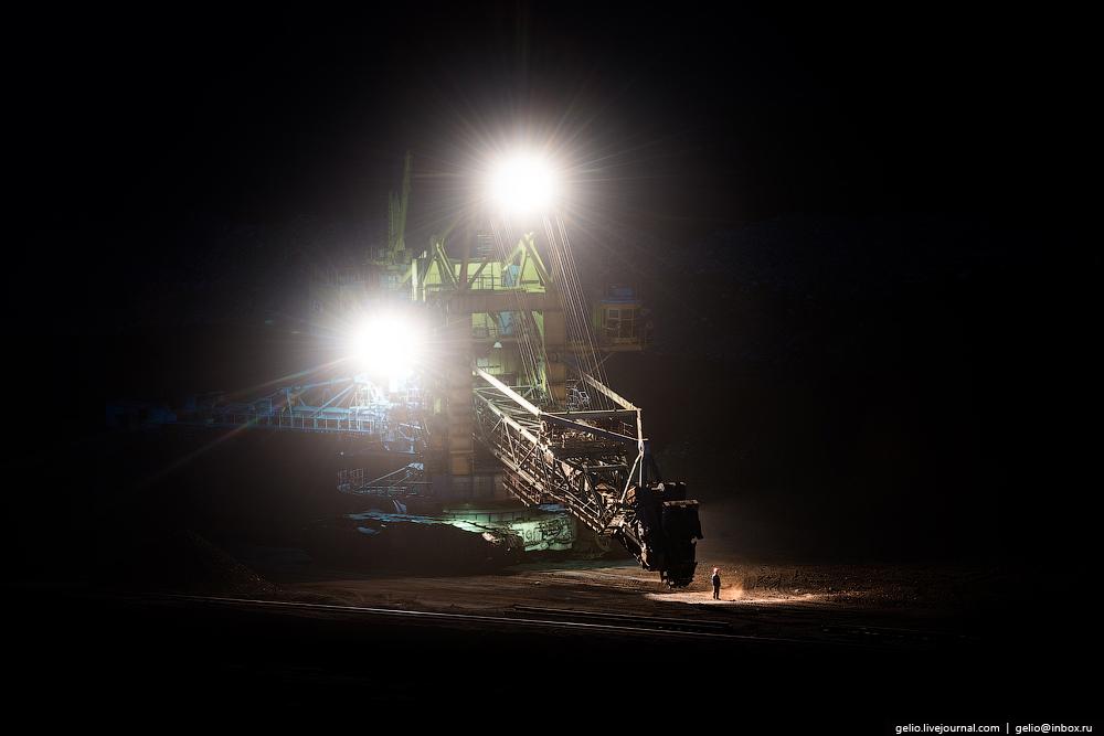 The biggest coal mine in Russia 19