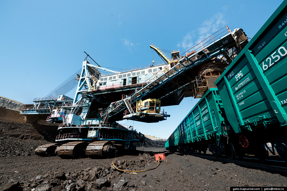 The biggest coal mine in Russia 21