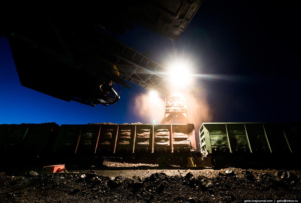 The biggest coal mine in Russia 22