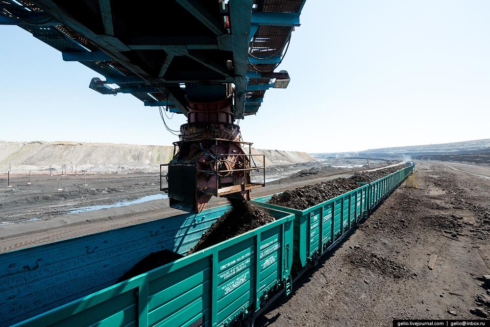 The biggest coal mine in Russia 23