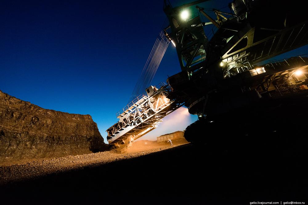 The biggest coal mine in Russia 26