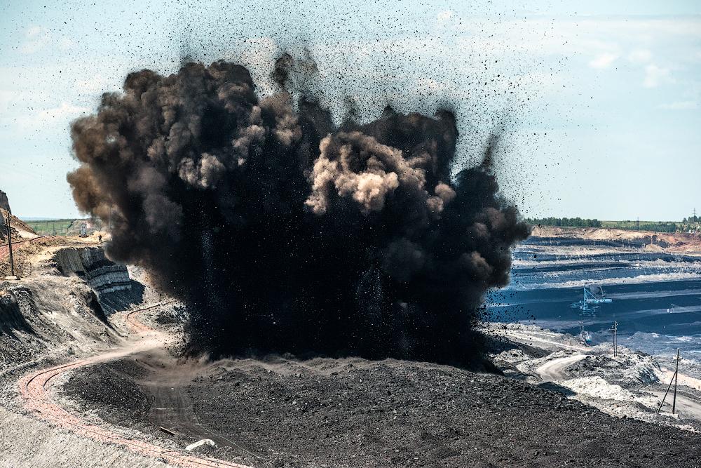 The biggest coal mine in Russia 28