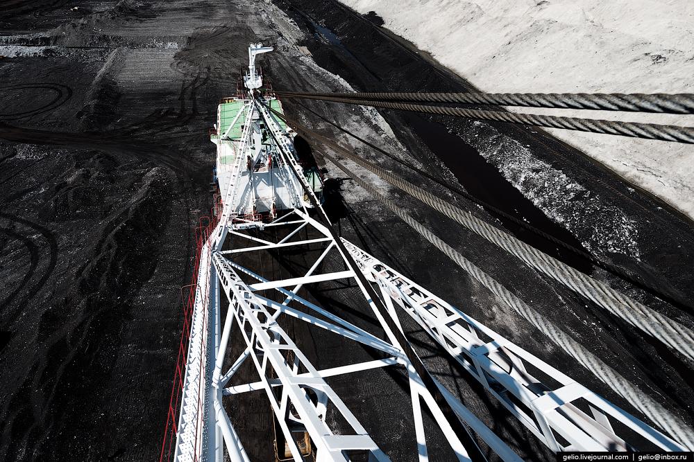 The biggest coal mine in Russia 29