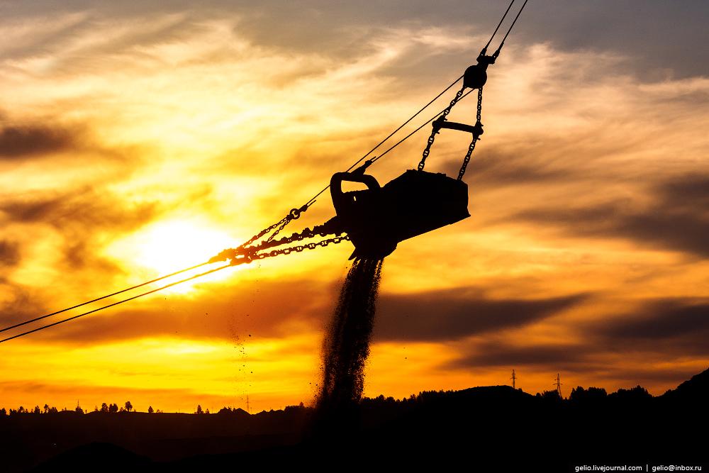 The biggest coal mine in Russia 30