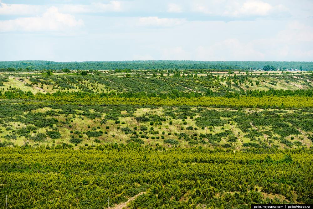 The biggest coal mine in Russia 34