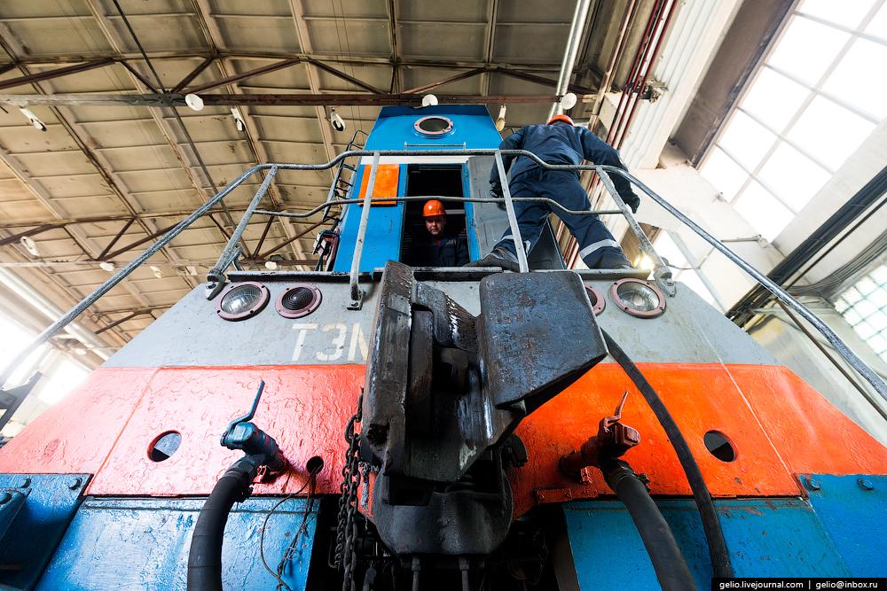 The biggest coal mine in Russia 35