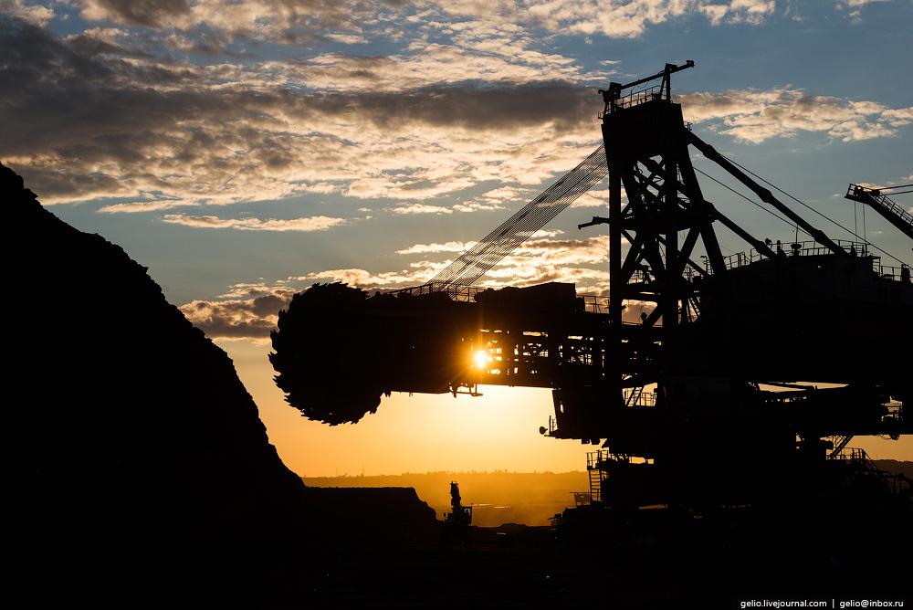 The biggest coal mine in Russia 41
