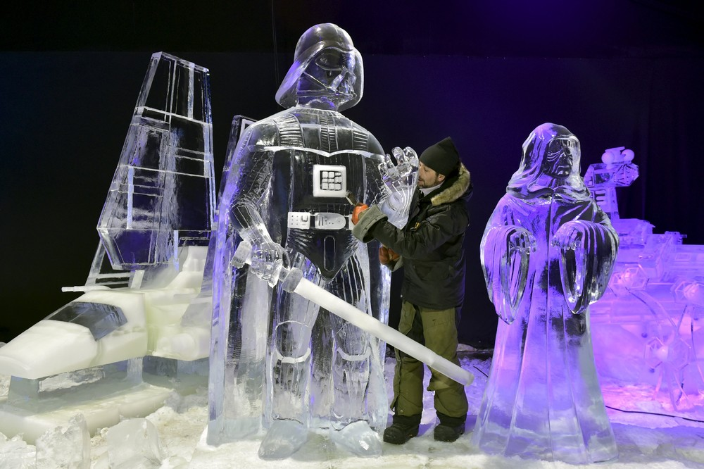 The ice sculpture festival in Belgium 04