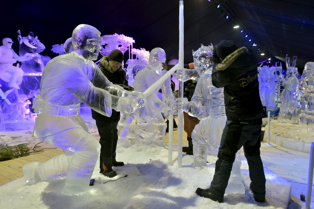 The ice sculpture festival in Belgium 05