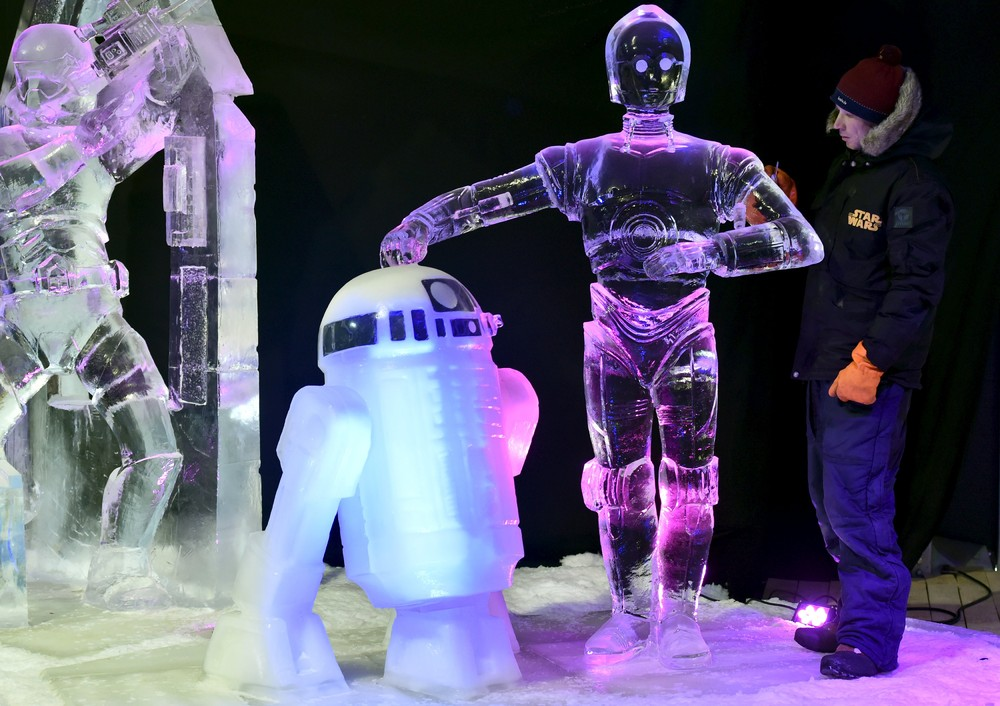 The ice sculpture festival in Belgium 11