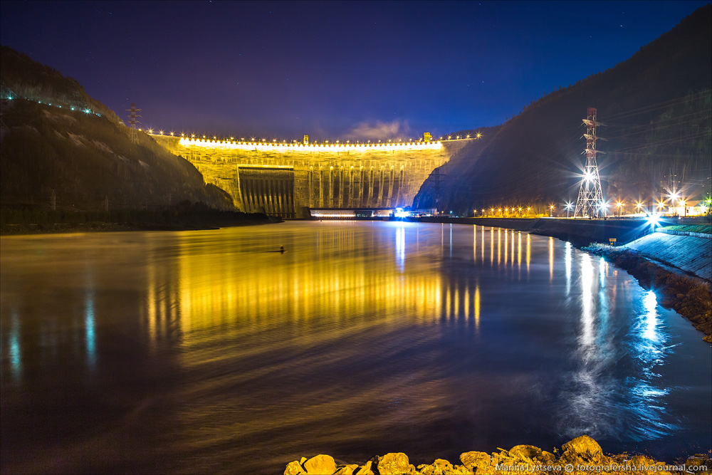 The largest HPP in Russia 01