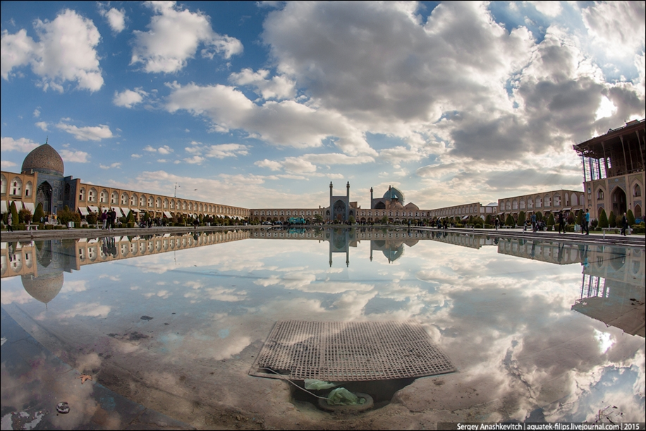 The second largest square in the world. Imam square in Isfahan 03