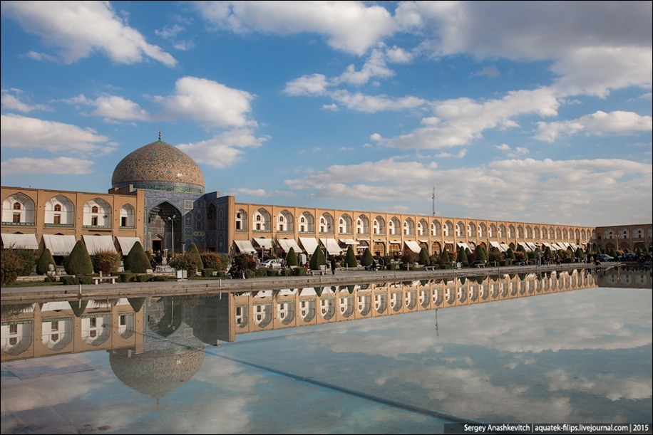 The second largest square in the world. Imam square in Isfahan 04