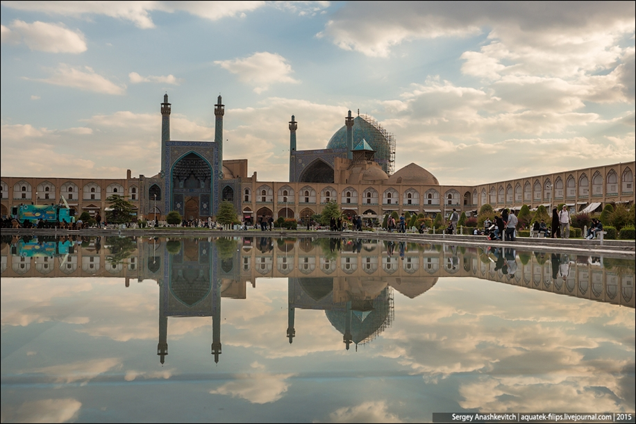 The second largest square in the world. Imam square in Isfahan 05
