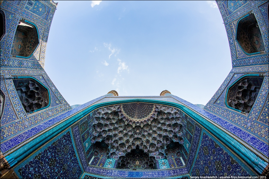The second largest square in the world. Imam square in Isfahan 06