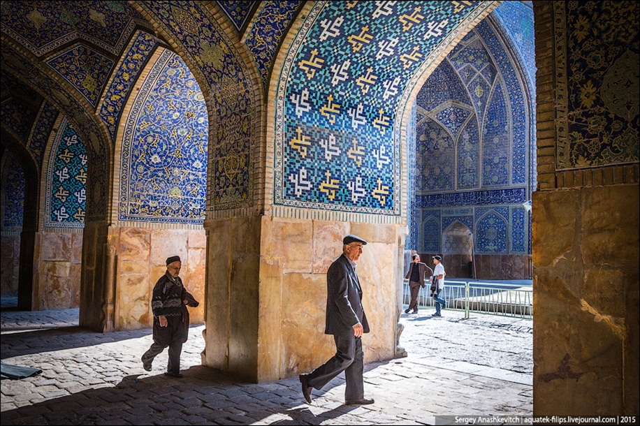 The second largest square in the world. Imam square in Isfahan 12