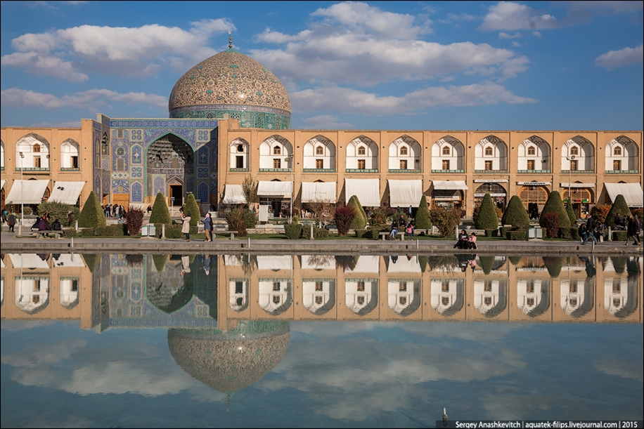 The second largest square in the world. Imam square in Isfahan 13