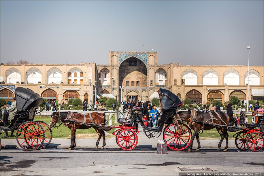 The second largest square in the world. Imam square in Isfahan 15