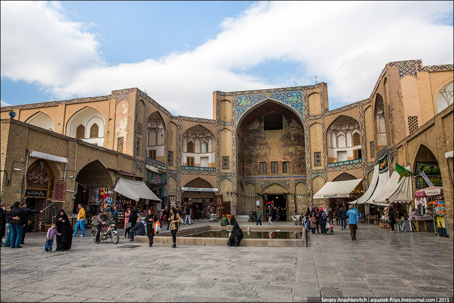 The second largest square in the world. Imam square in Isfahan 17