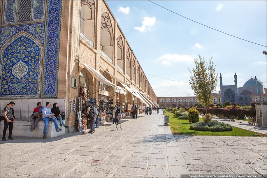 The second largest square in the world. Imam square in Isfahan 18