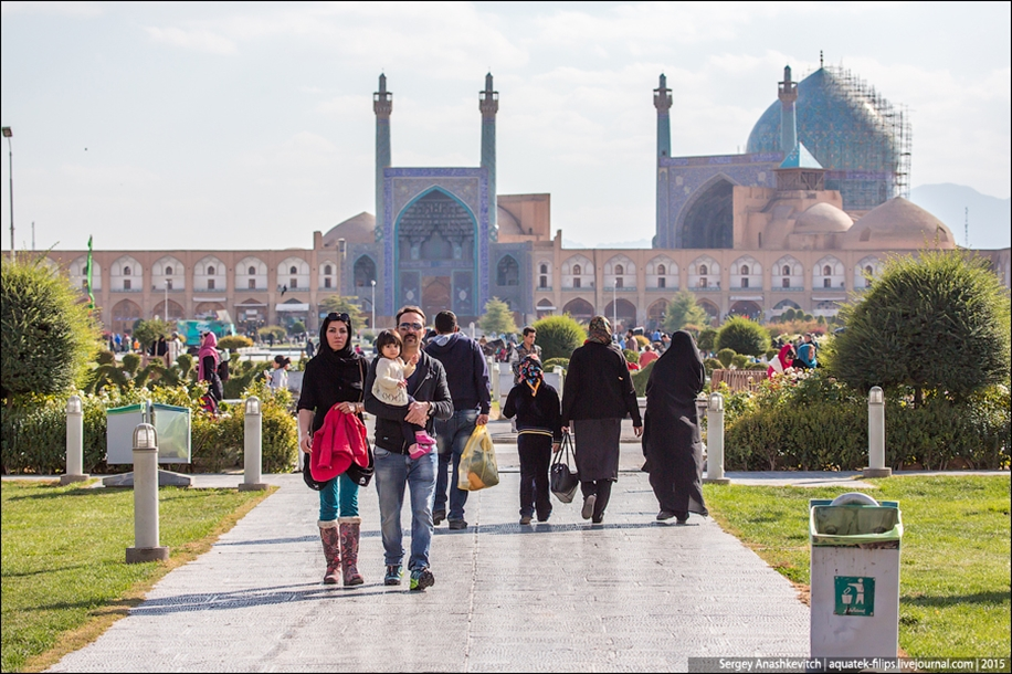 The second largest square in the world. Imam square in Isfahan 21