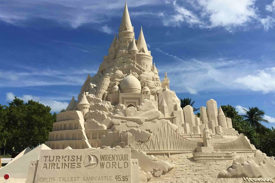 The tallest sand castle_1
