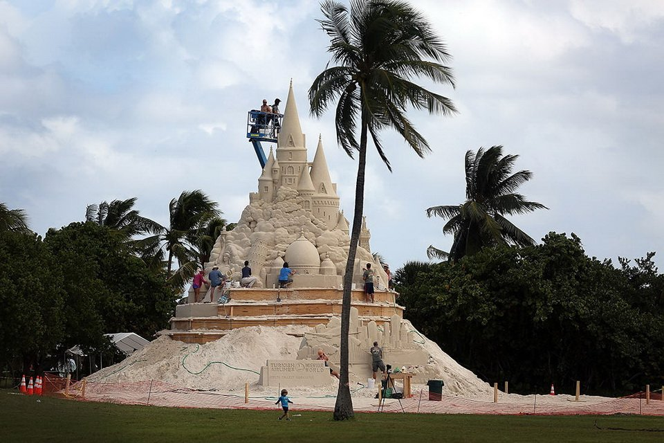 The tallest sand castle_2