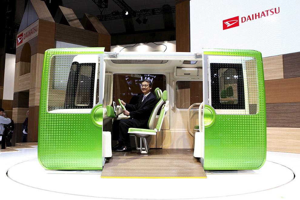 Tokyo motor show futuristic cars 2015_22