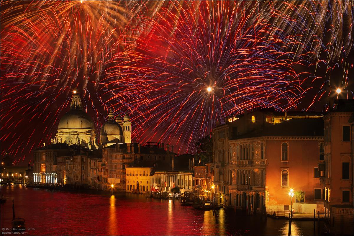 Венеция — Festa del Redentore (Праздник Спасителя)
