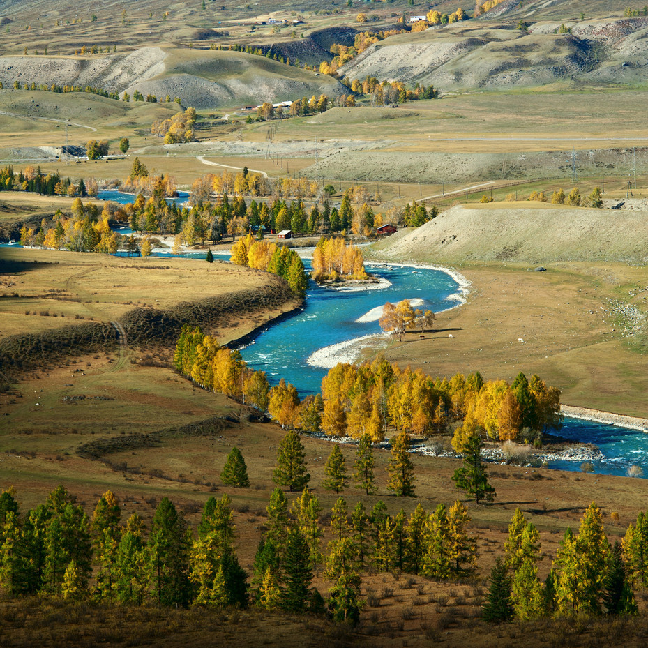 autumn landscapes of Altai 06