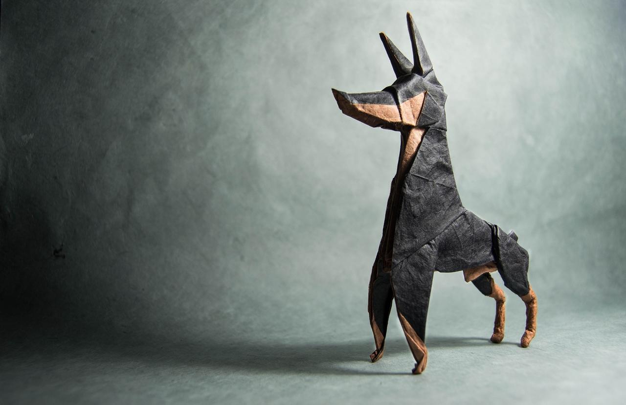 Потрясающие и удивительные оригами Гонсало Кальво
