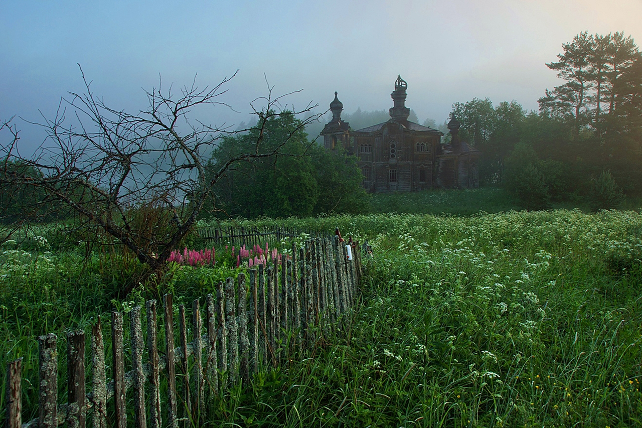 Abandoned village - Segozero 14