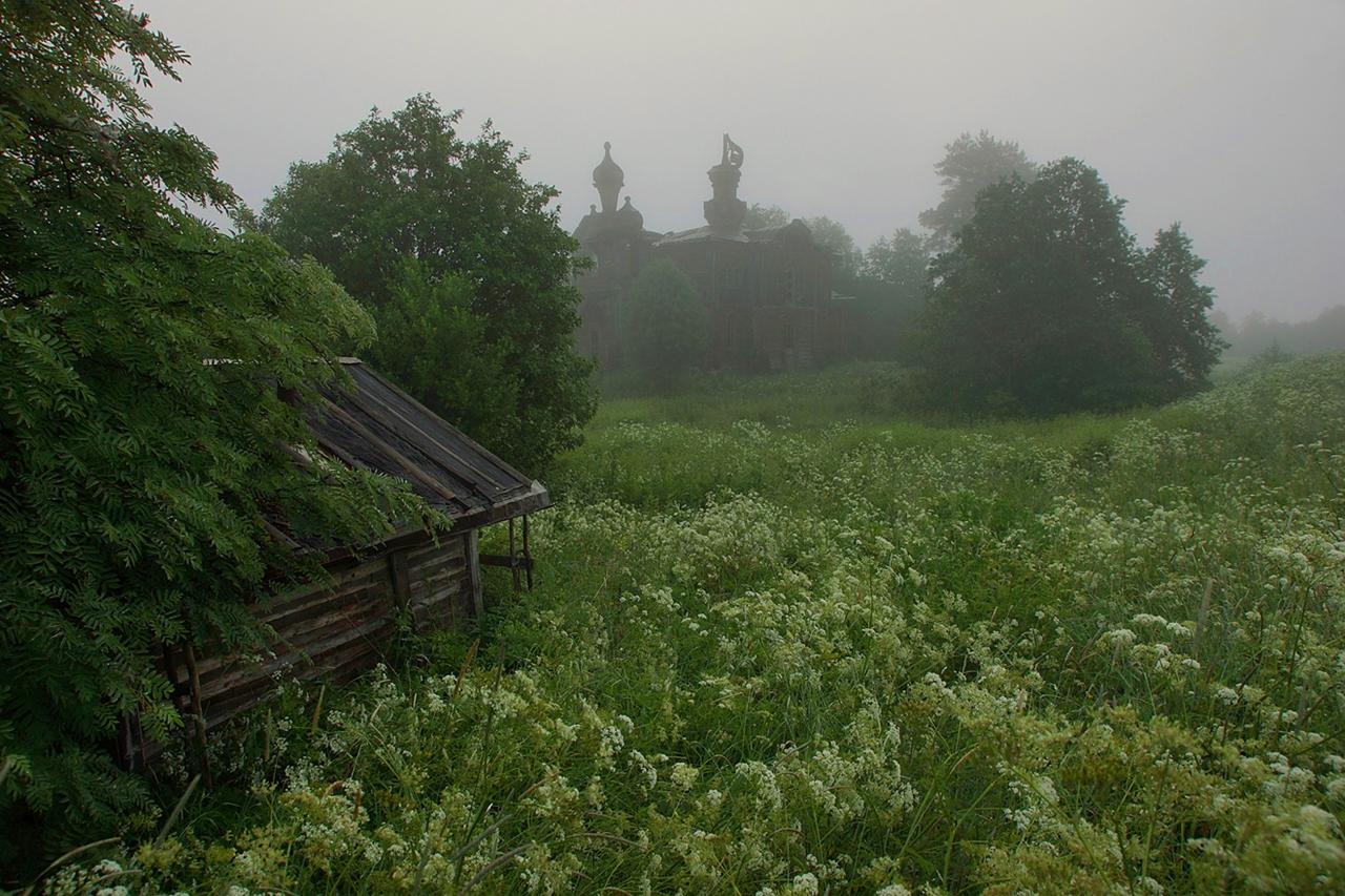 Abandoned village - Segozero 17