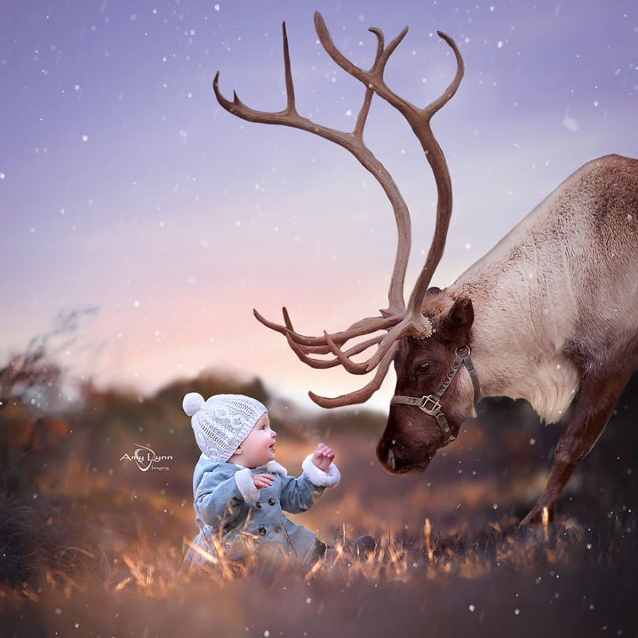 Amazing shots of children and animals from different parts of the world 02