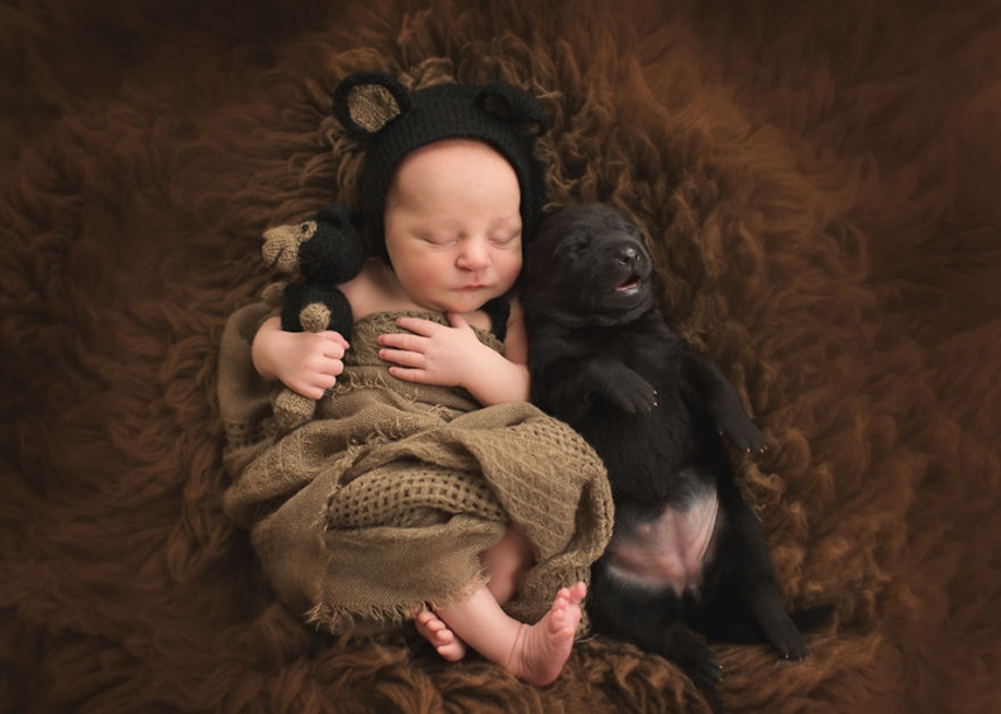 Amazing shots of children and animals from different parts of the world 07