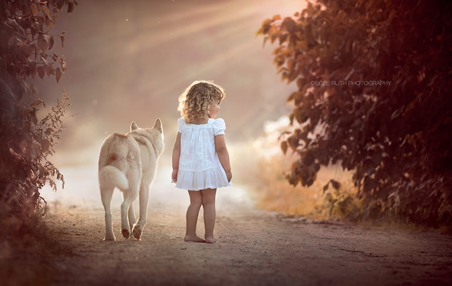 Amazing shots of children and animals from different parts of the world 21