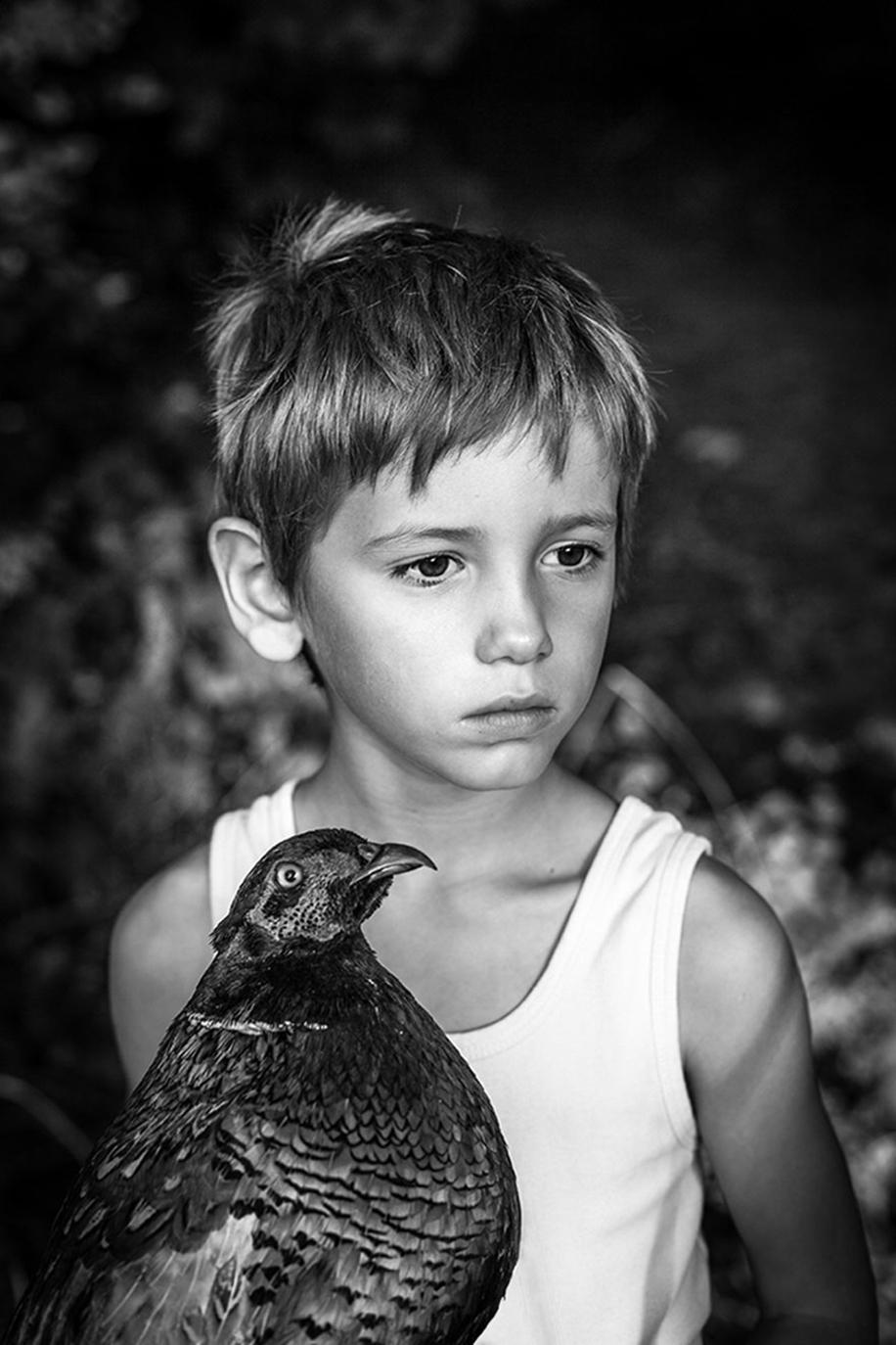 Amazing shots of children and animals from different parts of the world 34
