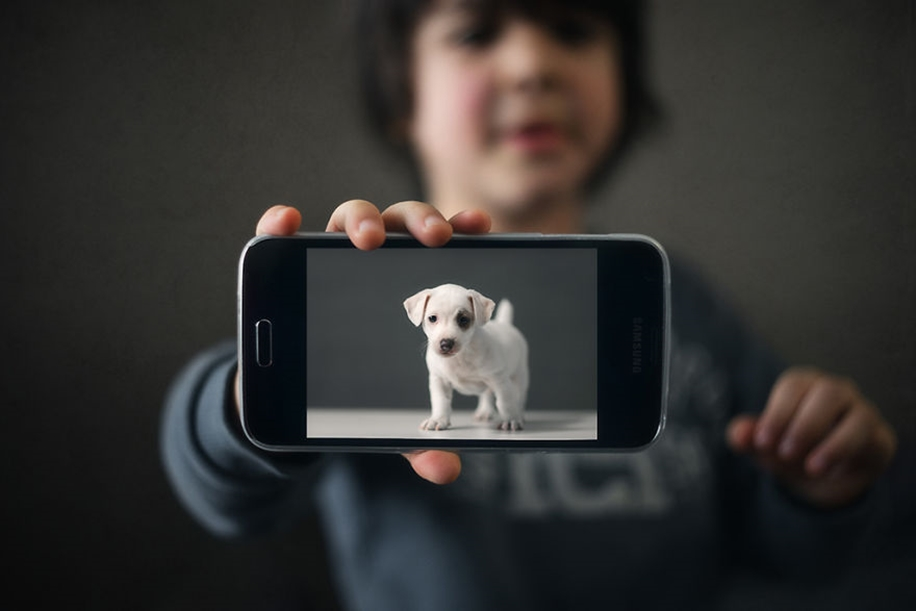 Amazing shots of children and animals from different parts of the world 40
