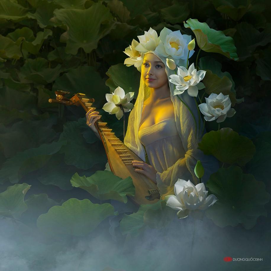 Яркие и красочные работы Duong Quoc Dinh