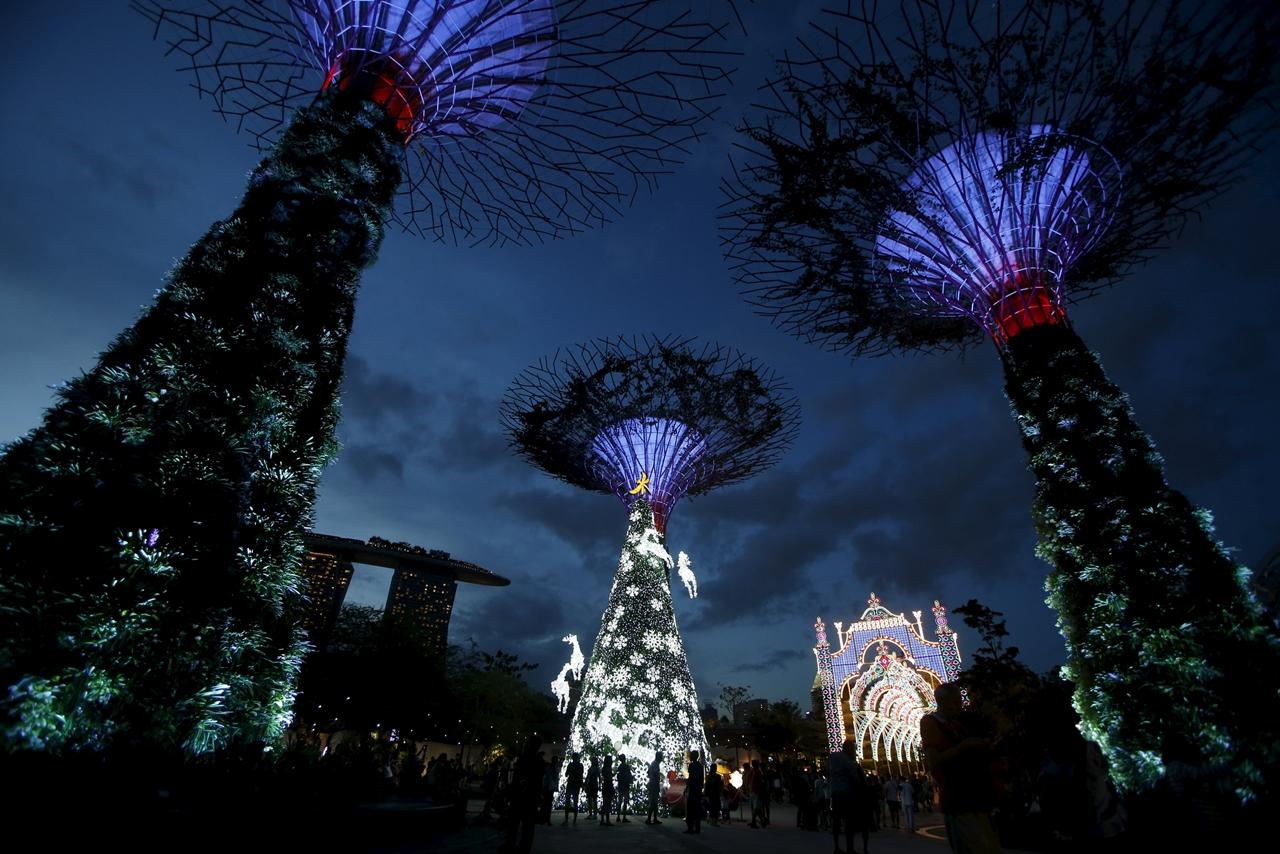 Новогодние елки по всему миру