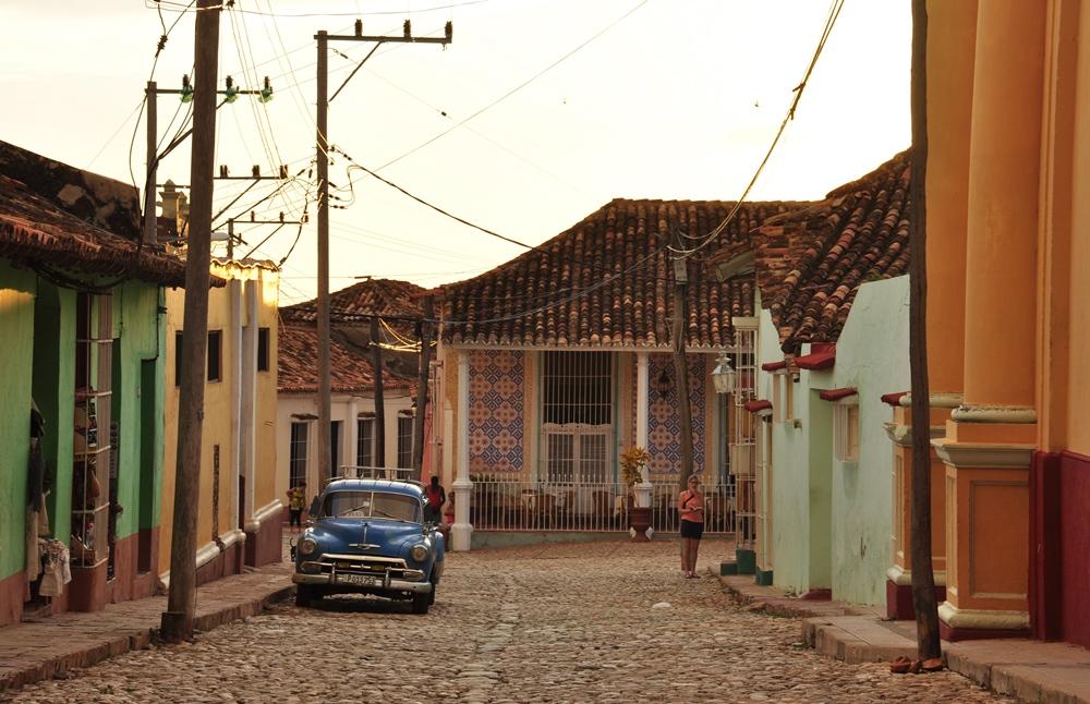 Cuba. Trinidad night 11